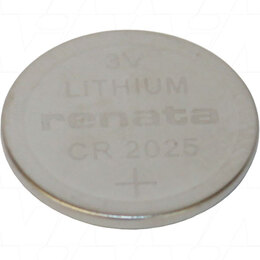 Renata Lithium Battery Coin Cell CR2025 (tray of 20) CR2025 (R)